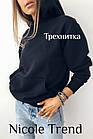 Женский зимний батник с карманами черный белый хаки меланж кемэл фрез 42-44 44-46, фото 2