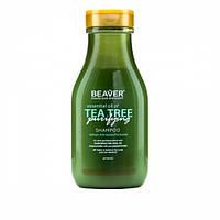 Шампунь BEAVER Tea Tree для жирных волос 60 мл
