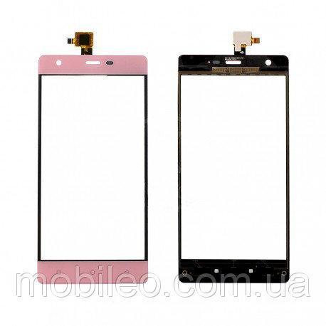 Сенсорный экран (тачскрин) Nomi i506 Shine pink