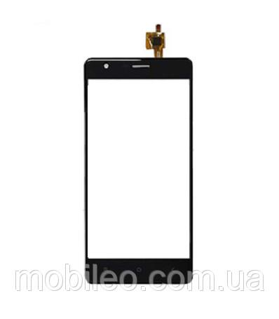 Сенсорный экран (тачскрин) Oukitel K4000 Lite чёрный