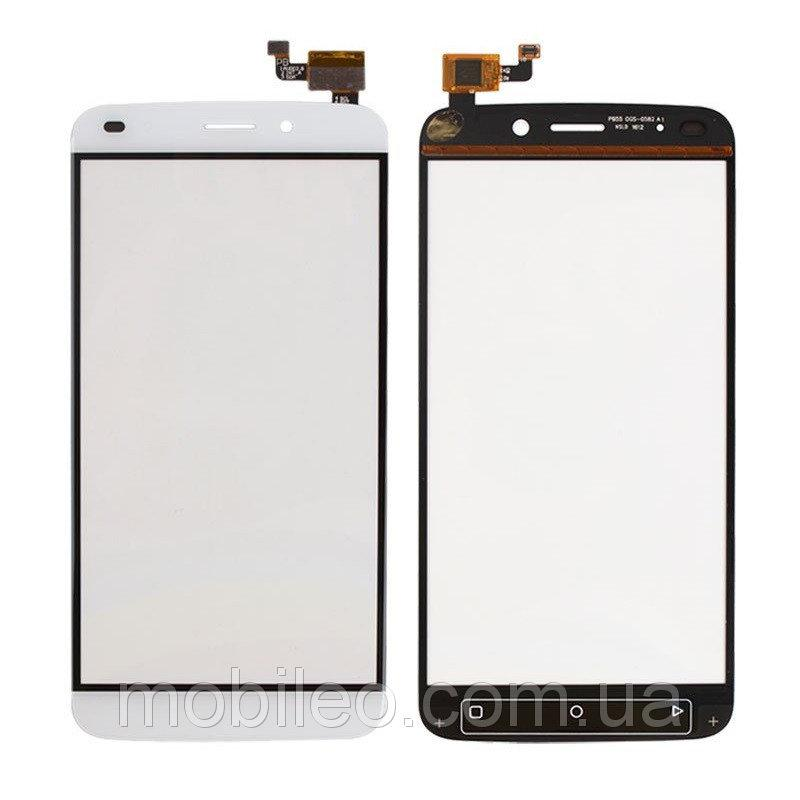 Сенсорный экран (тачскрин) Oukitel U10 белый
