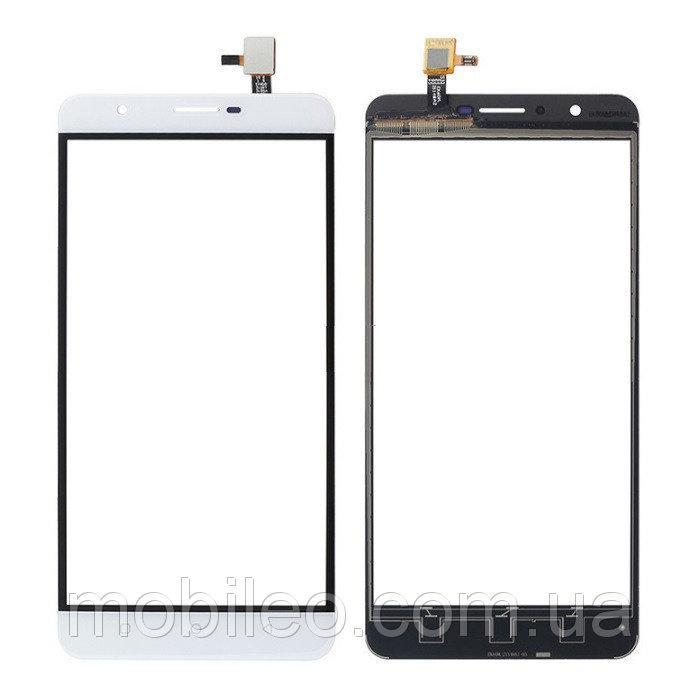 Сенсорный экран (тачскрин) Oukitel U16 Max белый