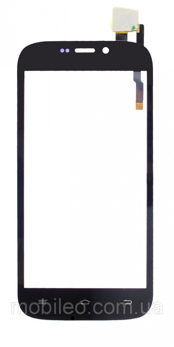 Сенсорный экран (тачскрин) Qumo Quest 452 453 чёрный