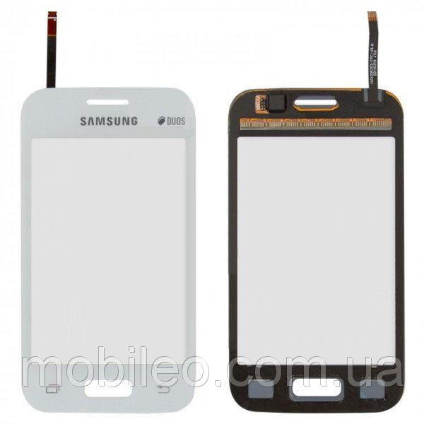 Сенсорный экран (тачскрин) Samsung G130E Galaxy Star 2 G130H G130HN белый оригинал