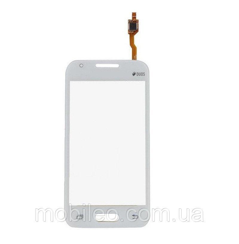 Сенсорный экран (тачскрин) Samsung G318 Galaxy Ace 4 Neo белый оригинал