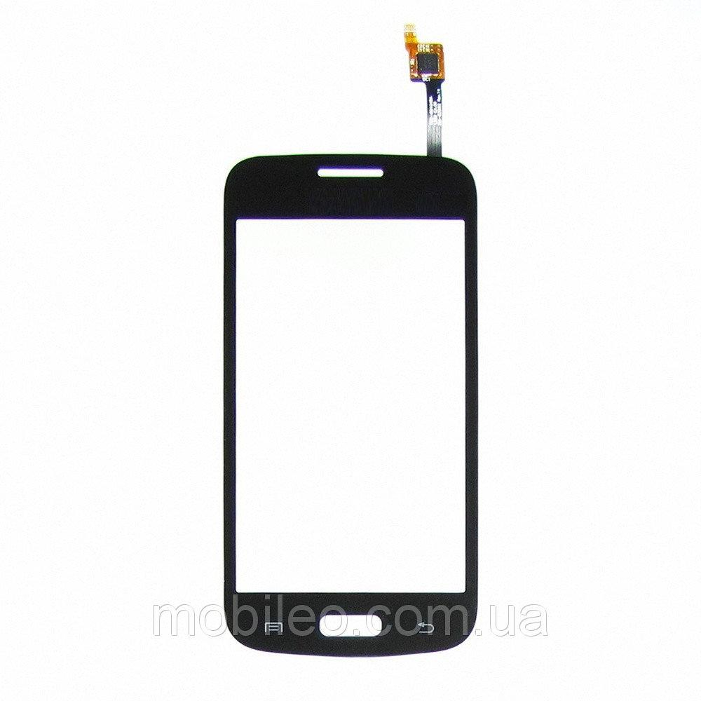 Сенсорный экран (тачскрин) Samsung G350e Galaxy Star Advance чёрный copy