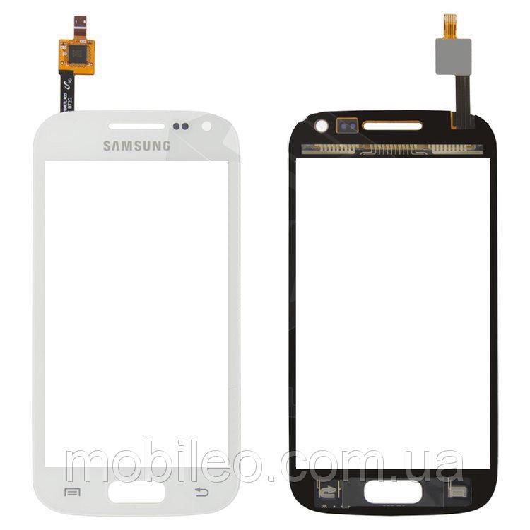 Сенсорный экран (тачскрин) Samsung I8160 Galaxy Ace 2 белый оригинал