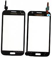 Сенсорный экран (тачскрин) Samsung I8552 Galaxy Win I8550 серый оригинал