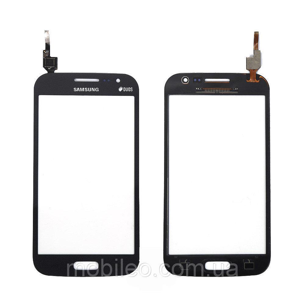 Сенсорный экран (тачскрин) Samsung I8552 Galaxy Win I8550 чёрный