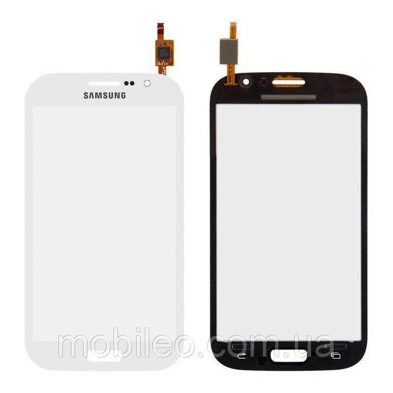 Сенсорный экран (тачскрин) Samsung I9062 Galaxy Grand Neo I9060 белый оригинал