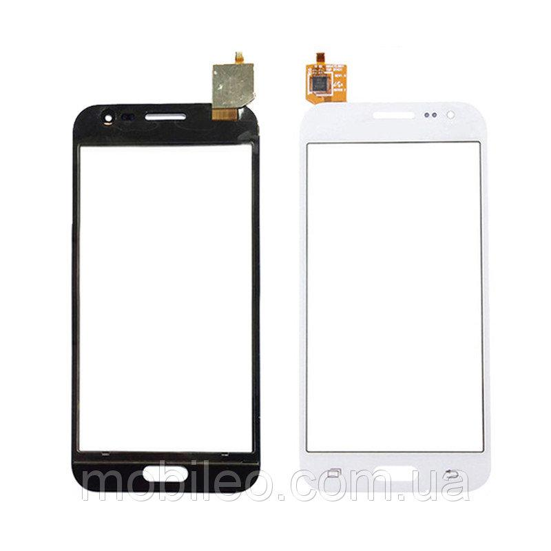 Сенсорный экран (тачскрин) Samsung J200F Galaxy J2 белый оригинал