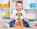 Детская игрушечная юла с погремушками, три вида, фото 2