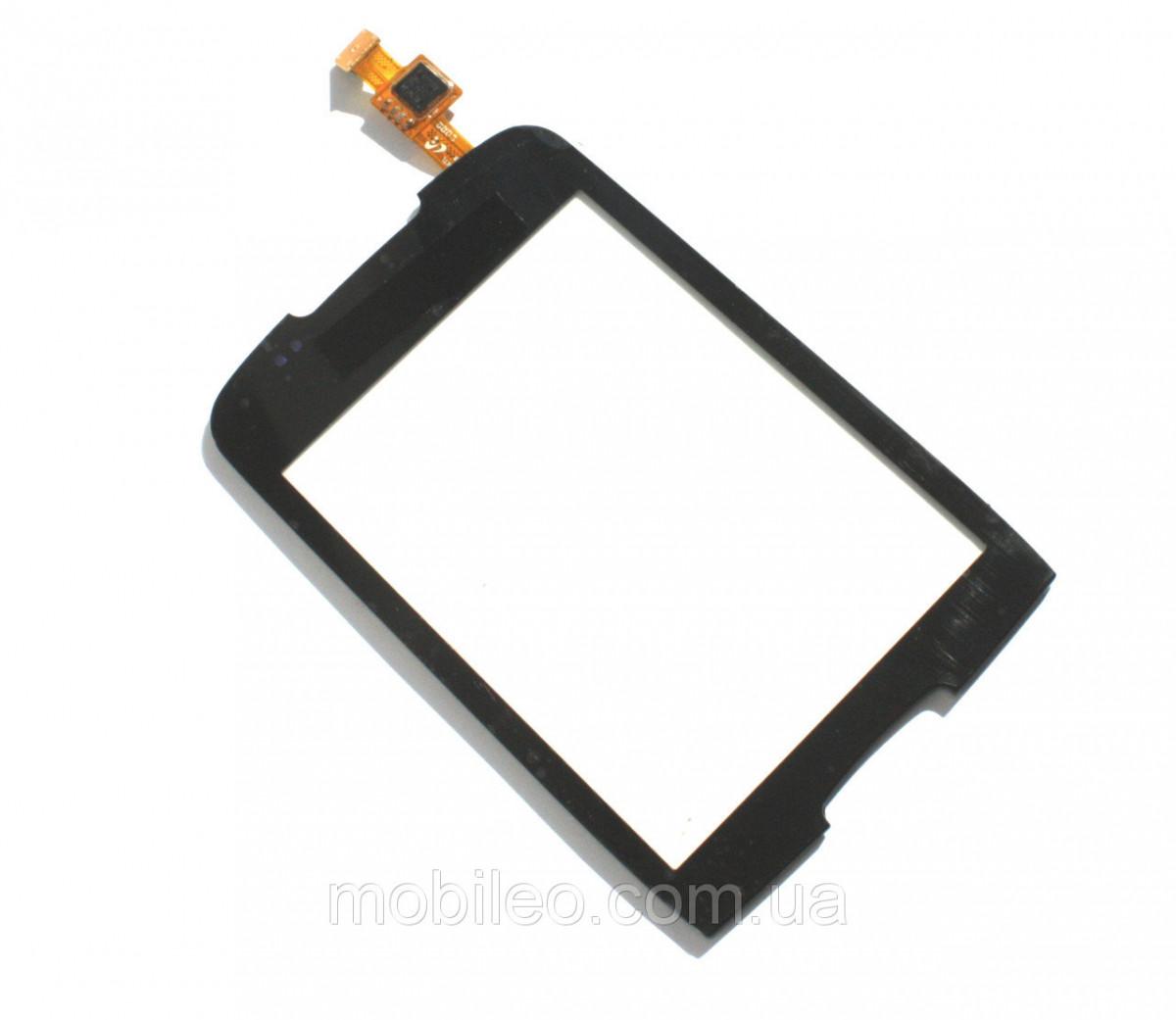 Сенсорный экран (тачскрин) Samsung S5570 Galaxy mini чёрный оригинал