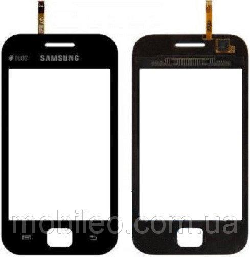 Сенсорный экран (тачскрин) Samsung S6802 Galaxy S Duos S6352 черный