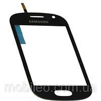 Сенсорный экран (тачскрин) Samsung S6810 Galaxy Fame S6812 синий