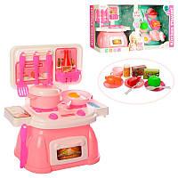Игрушечная кухня 8930-2, 25 см, плита, посуда, продукты, аксессуары