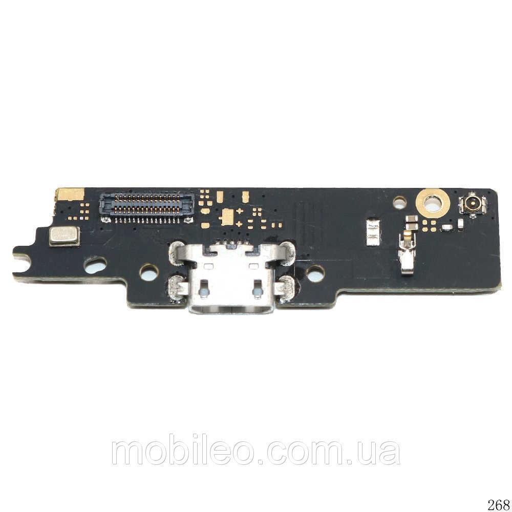 Шлейф для Motorola XT1770 Moto E4 Plus | XT1771 | XT1775 с разъемом зарядки