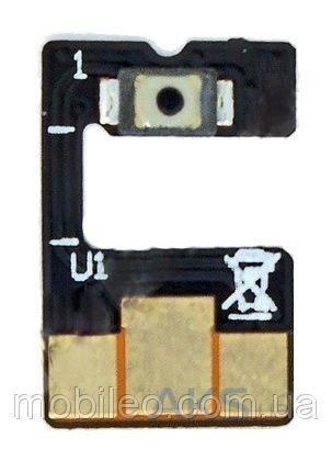 Шлейф (Flat, Flex cable) Asus ZenFone 2 Laser (ZE600KL ZE601KL), с кнопкой включения