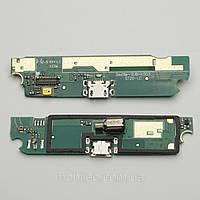 Шлейф для Lenovo S720 с разъемом зарядки, микрофоном и компонентами