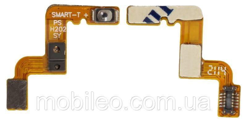 Шлейф для Lenovo S898 с кнопкой включения и датчиком приближения