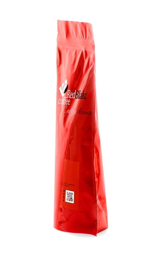 Кофе Шоколадная корица RedBlakcCoffee в зернах 250 г 3