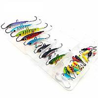 """Набор приманок для зимней рыбалки """"ICE BOX"""", 6 видов, 26 штук"""