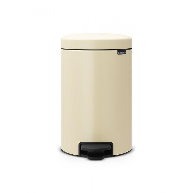 Ведро для мусора Brabantia Pedal Bin 12 л Almond (113468)