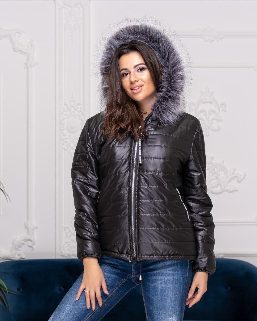 Короткая теплая куртка большого размера Olsen Батал