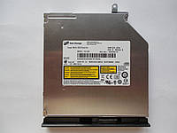 Привод DVD-RW тонкий Hitachi-LG GU10N LGE-DMGU10F(B) Sata UltraSlim 9.5mm