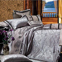 """Неповторимый семейный комплект постельного белья из натуральной ткани Tiare """"Iron"""""""