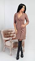 """Элегантное красивое платье """"286"""" Размеры 44,46."""