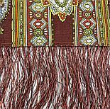 Садко 598-56, павлопосадский платок шерстяной с шелковой бахромой, фото 9
