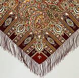 Садко 598-56, павлопосадский платок шерстяной с шелковой бахромой, фото 3