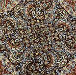 Садко 598-56, павлопосадский платок шерстяной с шелковой бахромой, фото 6
