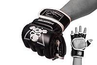 Рукавички для Mma 3056 А Чорно-Білі L SKL24-144649