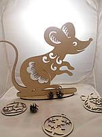 Мишка сувенир. Новогодний подарок.