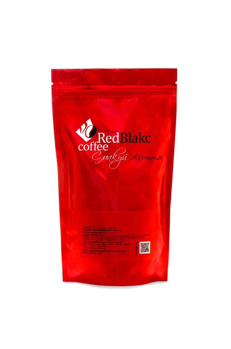 Кофе Вишня с коньяком RedBlakcCoffee в зернах 100 г