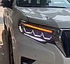 Передние фары Toyota Prado 150 (2018+) тюнинг Full Led оптика стиль Lexus, фото 5