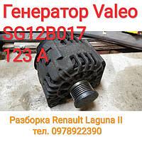 Б/у Генератор Valeo SG12B017 123 А, фото 1