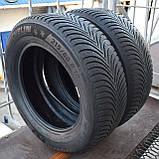 Шины б/у 215/60 R16 Michelin Alpin A5, ЗИМА, 5+ мм, 2016 г., пара, фото 4