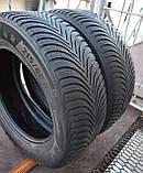 Шины б/у 215/60 R16 Michelin Alpin A5, ЗИМА, 5+ мм, 2016 г., пара, фото 5