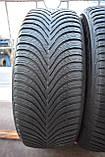Шины б/у 215/60 R16 Michelin Alpin A5, ЗИМА, 5+ мм, 2016 г., пара, фото 2