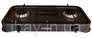 Газовая плита двухконфорочная без крышки Grunhelm GGP-6002
