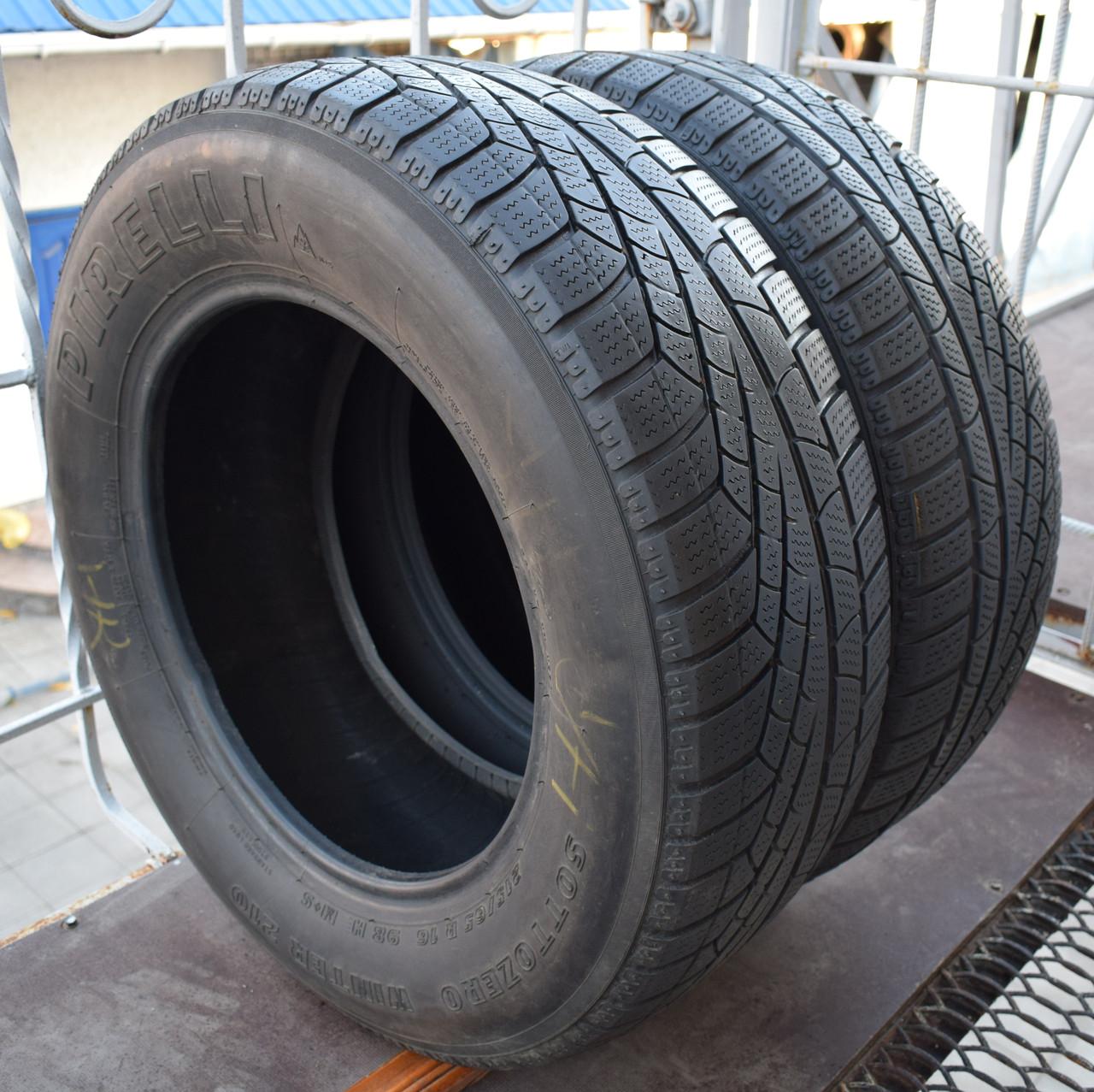 Шини б/у 215/65 R16 Pirelli Sottozero, ЗИМА, 5-5.5 мм, пара