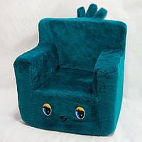 Детский стульчик 43см бирюзовый