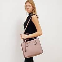 Женская средняя сумка пудровая MK, фото 1