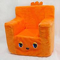 Детский стульчик 43см оранжевый