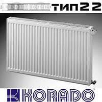 Стальной радиатор Korado Radik Klasik 22 300-400