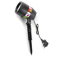 Вуличний лазерний проектор 12 слайдів SKL11-133177