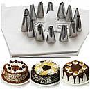 Кондитерский шприц cookie press & icing set с насадками, фото 2